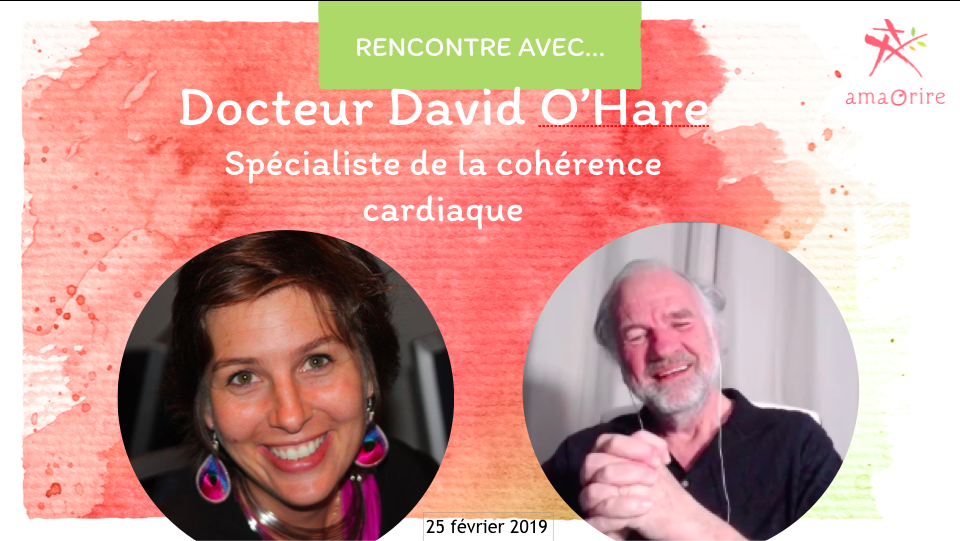 Docteur David O'Hare, Respiration et cohérence cardiaque