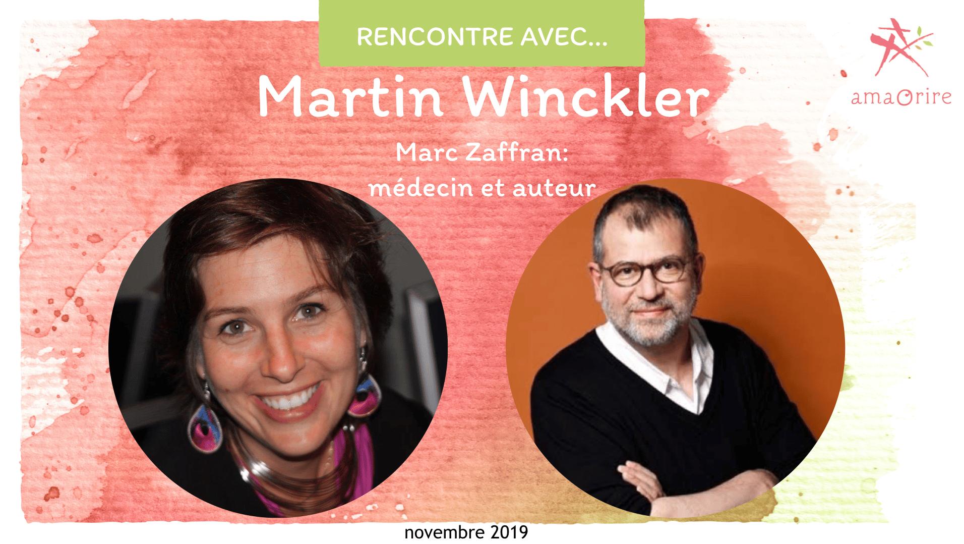 Martin Winckler: être soignant, être soignée